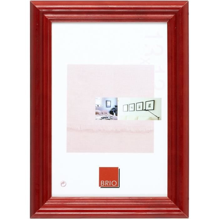 brio cadre photo circ e rouge 30x45 cm achat vente cadre photo bois cdiscount. Black Bedroom Furniture Sets. Home Design Ideas