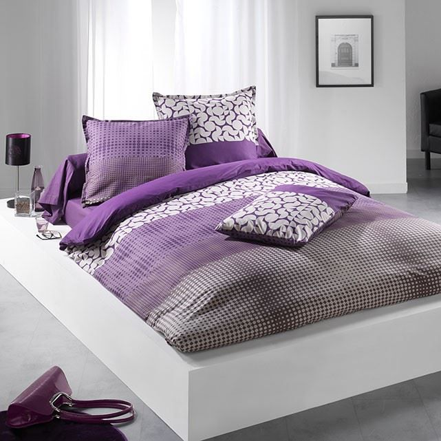 housse de couette 140x200 1 taie cinetic violet achat vente parure de couette cdiscount. Black Bedroom Furniture Sets. Home Design Ideas