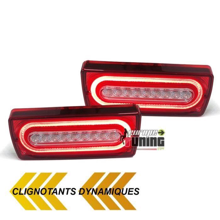 04823 europetuning CLIGNOTANTS A DEFILEMENT LEDS DYNAMIQUES POUR CLASSE G W463
