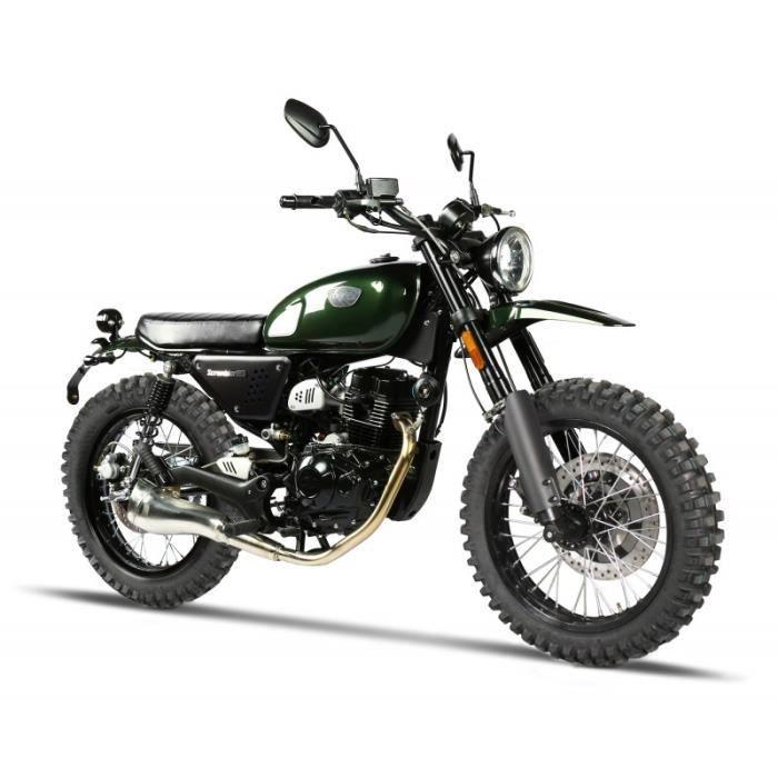 Présentation de la moto 125 MagPower Legenders 125