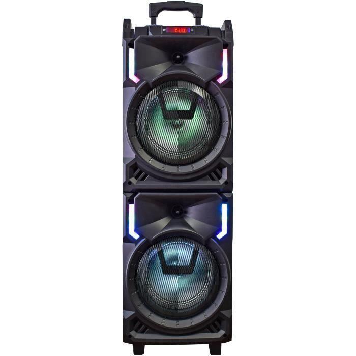 ENCEINTES INOVALLEY  MS01XXL Enceinte Nomade Karaoke Trolley