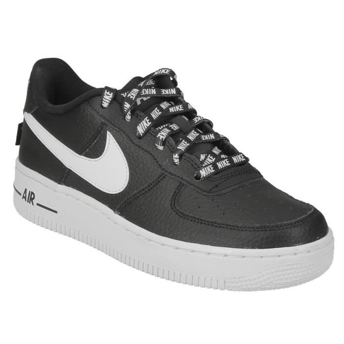 BASKET Basket Nike air force 1 LV8 junior en cuir noir et