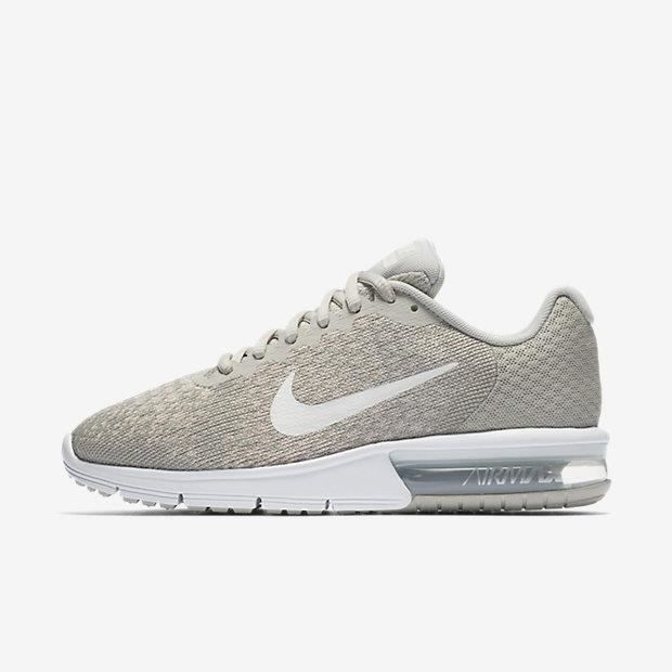 Vente Femme Basket 2 Baskets Nike Max Air Achat Sequent Sable Rq5j3ALc4