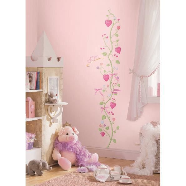 Roommates stickers muraux f e princesse toise achat for Stickers chambre d enfant