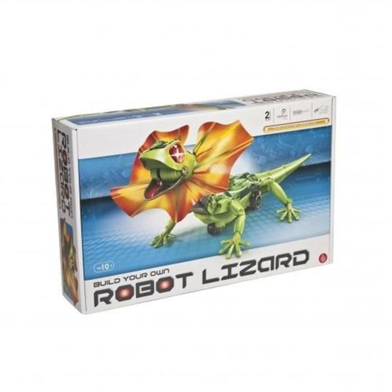 KIT A MONTER EDUCATIF ROBOT LEZARD ELECTRONIQUE IR A 2 MODES SUIVEUR OU OBSTACLE