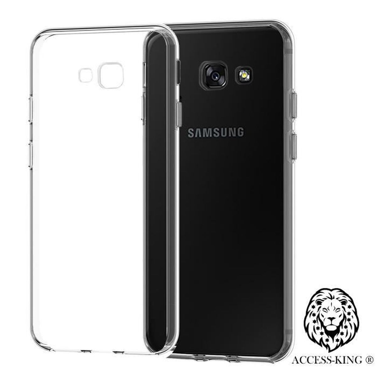 samsung galaxy a3 2017 etui ultra mince housse silicone transparent film verre trempe offert. Black Bedroom Furniture Sets. Home Design Ideas