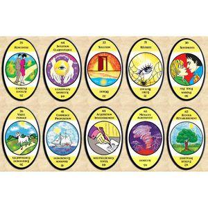 CARTES DE JEU Oracle du Regard - 68 cartes - Cartes de voyance a