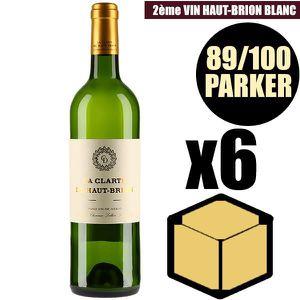 VIN ROUGE X6 La Clarté de Haut-Brion 2016 75 cl AOC Pessac-L