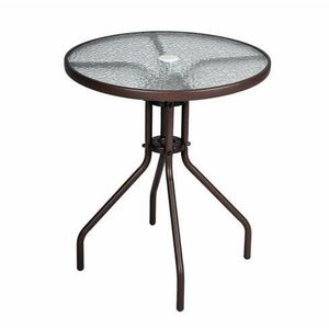 table jardin avec trou parasol achat vente table. Black Bedroom Furniture Sets. Home Design Ideas