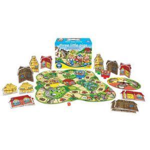 JEU SOCIÉTÉ - PLATEAU Orchard Toys Jeu de Société Trois petits cochons (
