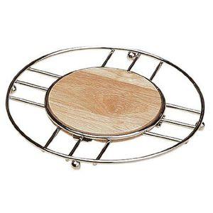 DESSOUS DE PLAT  Premier Housewares Dessous de plat rond en bois…