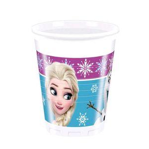 lot de 8 gobelets 20cl frozen lights reine des neiges/®