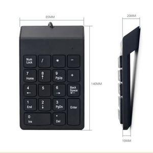 CLAVIER D'ORDINATEUR Clavier Numérique USB Câblé,Mini Clavier Numérique