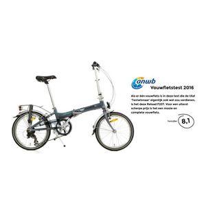VÉLO PLIANT Popal Reload Vélo Pliant 20 Pouces en Aluminum ave