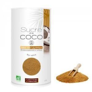 SUCRE & ÉDULCORANT Sucre de Coco non raffiné Bio*