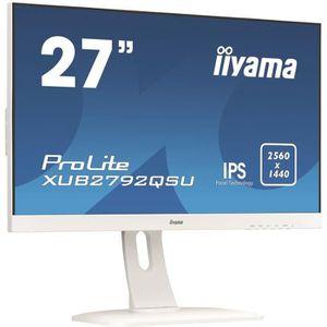 ECRAN ORDINATEUR Ecran PC - IIYAMA ProLite XUB2792QSU-W1 - 27