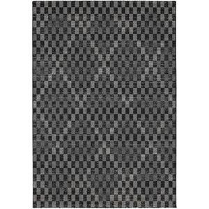TAPIS MADRID Tapis style contemporain 120X170 cm Noir /