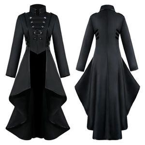 MANTEAU - CABAN manteau - caban - pardessus Femmes gothique Steamp