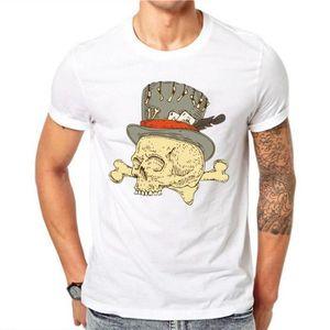 T-SHIRT Lettbao Skull Design Horreur Crâne T Shirt Hallowe
