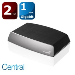 SERVEUR STOCKAGE - NAS  Seagate  2To Central NAS disque réseau
