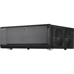 BOITIER PC  SilverStone SST-GD10B - Grandia Boîtier PC HTPC AT