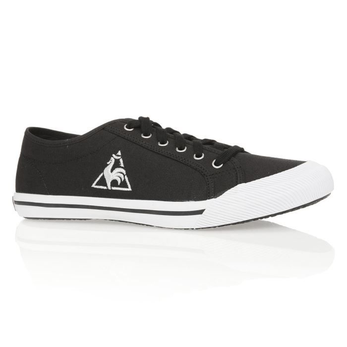 le coq sportif baskets deauville homme homme noir achat vente le coq sportif deauville homme. Black Bedroom Furniture Sets. Home Design Ideas