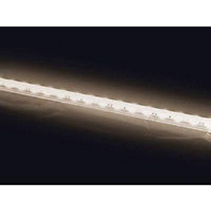 REGLETTE FLEXIBLE BARETTE ALU LAMPE 30 LED BLANC CHAUD 50CM ETANCHE EXTERIEUR