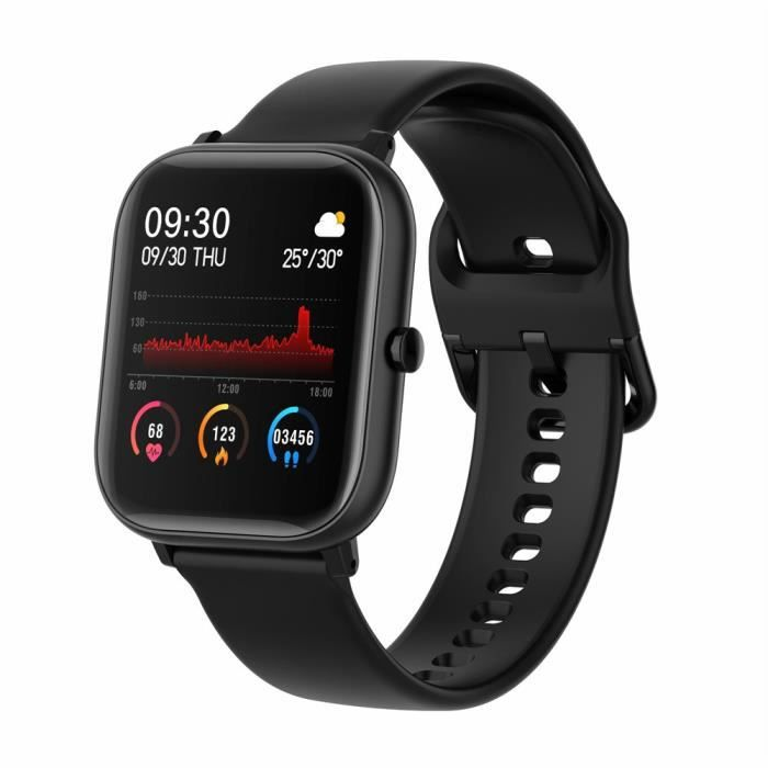 MONTRE OUTDOOR P20 Sports Montre Intelligente Fitness Fréquence Cardiaque Bracelet Intelligent Écran Tactile IP67 CO2101120619