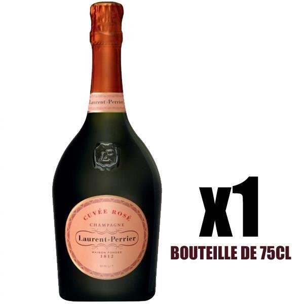 X1 Champagne Brut Rosé 75 cl Laurent-Perrier AOC Champagne