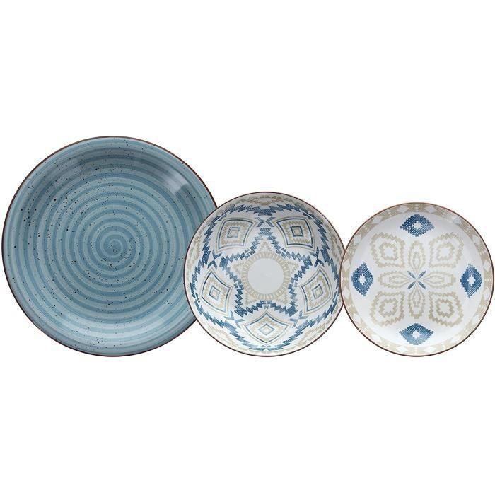 SERVICE DE TABLE Casablanca Service d'assiettes en porcelaine26