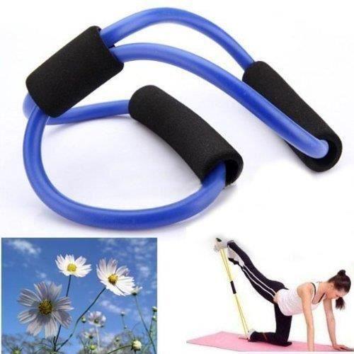 Bande de Résistance Corde Elastique de Résistance pour Exercice Yoga Aérobic Fitness