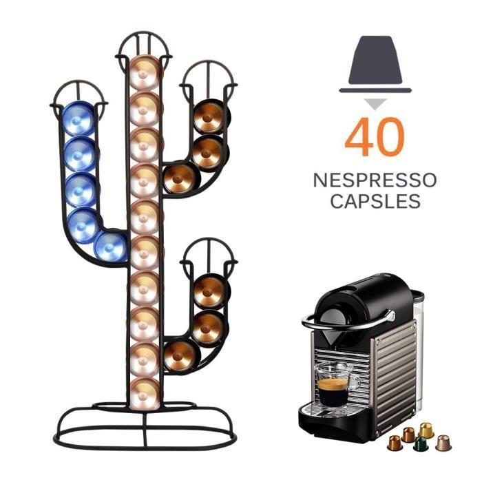 24-40 tasses métal noir café Capsule support de rangement café dosettes support fer chromé support pour Dolce Gusto Caps*DI2204