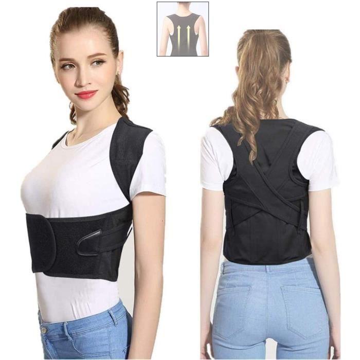 correcteur de posture ajustable, soutien des épaules, colonne vertébrale lombaire, gilet de correction pour corriger le bossu