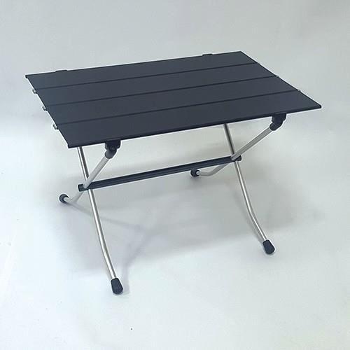 NIGOR Table M, Aluminium, Noir, Acier inoxydable, Aluminium, 15 kg, 600 mm, 400 mm
