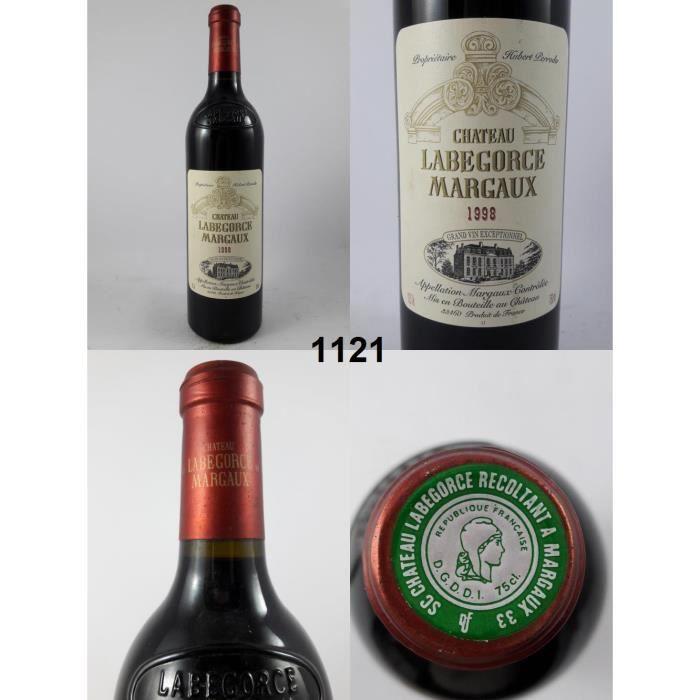 Château Labegorce 1998, Margaux, Rouge, 75 cl.