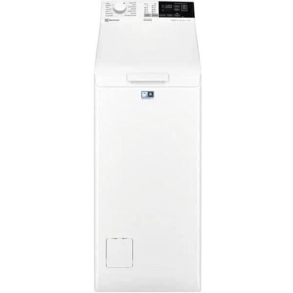 Lave-linge top ELECTROLUX EW6T4274ED - 7 kg - 1200 trs/min - Blanc