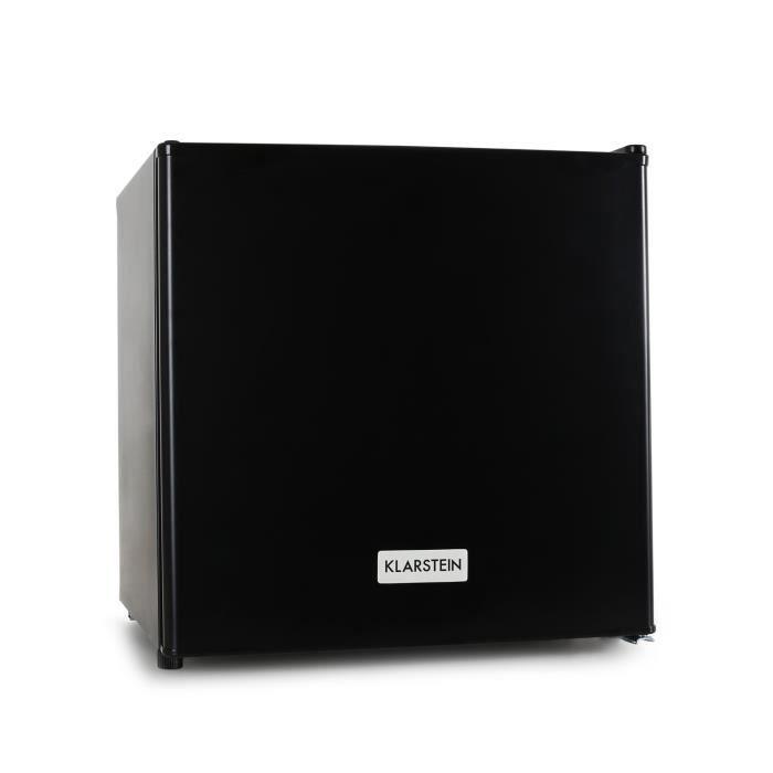 Klarstein Garfield - Congélateur compact de 35L 4 étoiles (65W, Classe A+, -18 à -24 °C) - noir