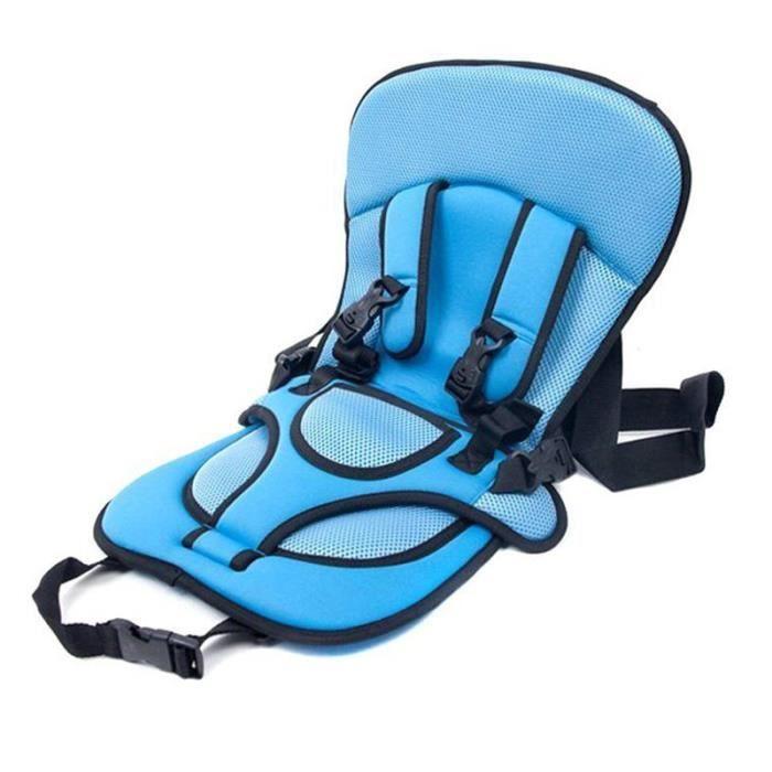 Siège de Sécurité Voiture coussin Portable Coussin Bleu Harnais transporteur pour bébé / enfants