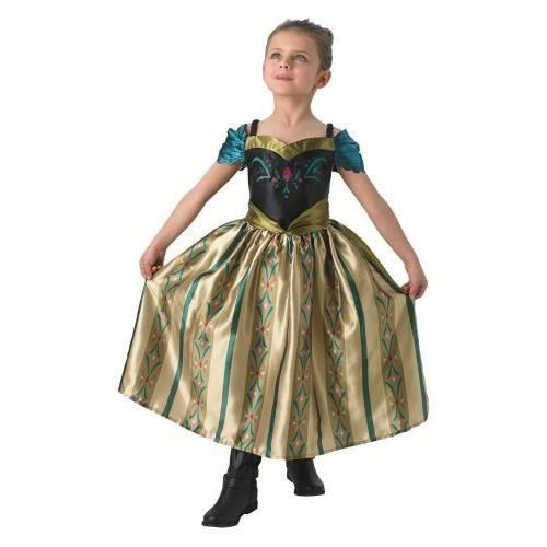 Déguisement Disney enfant Anna la Reine Des Neiges