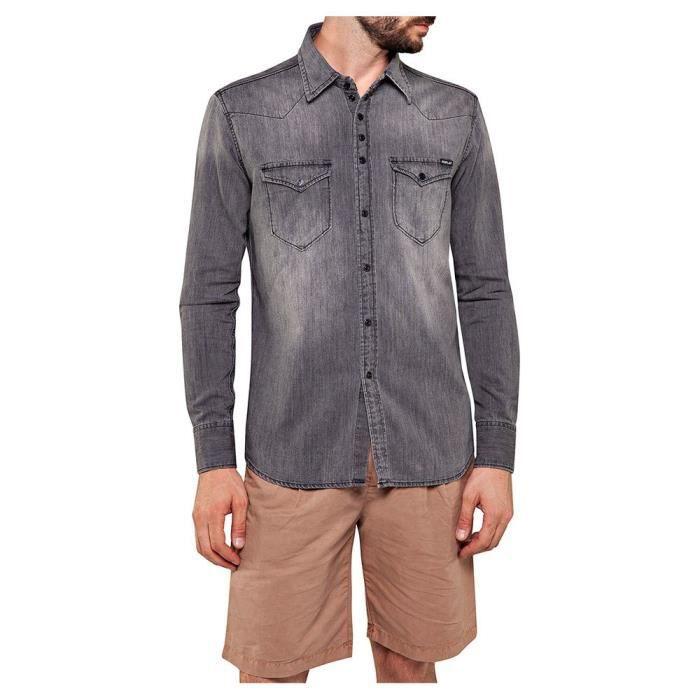 Vêtements Homme Chemises Replay M4981b Shirt