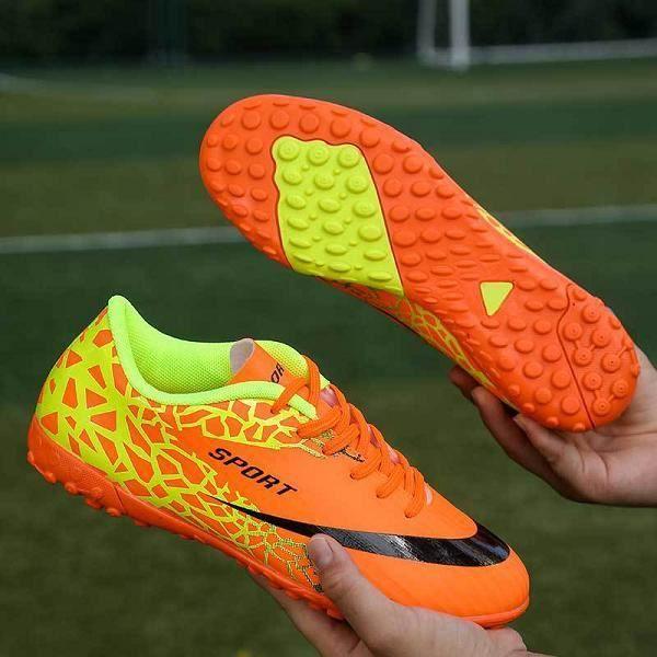 Chaussures enfants,Chaussures de taquet de Football de gazon en plein air hommes femmes chaussures de sport baskets enfants gar?o