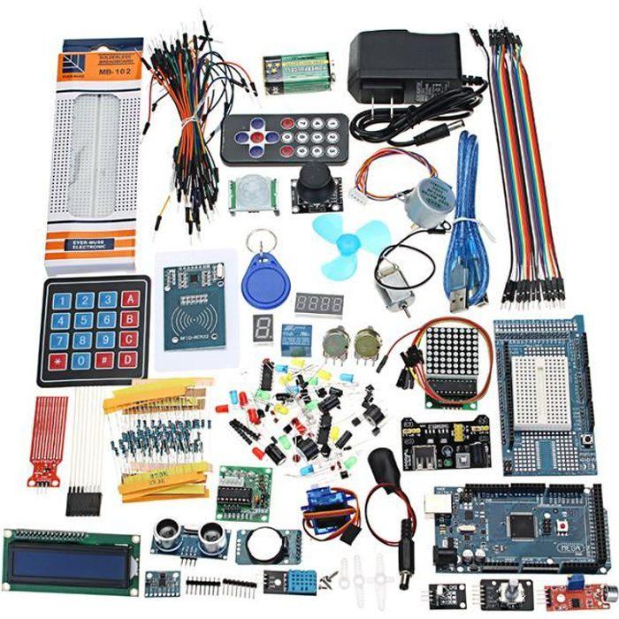 Mega 2560 Kit de démarrage le plus complet pour Arduino Mega2560 UNO Nano