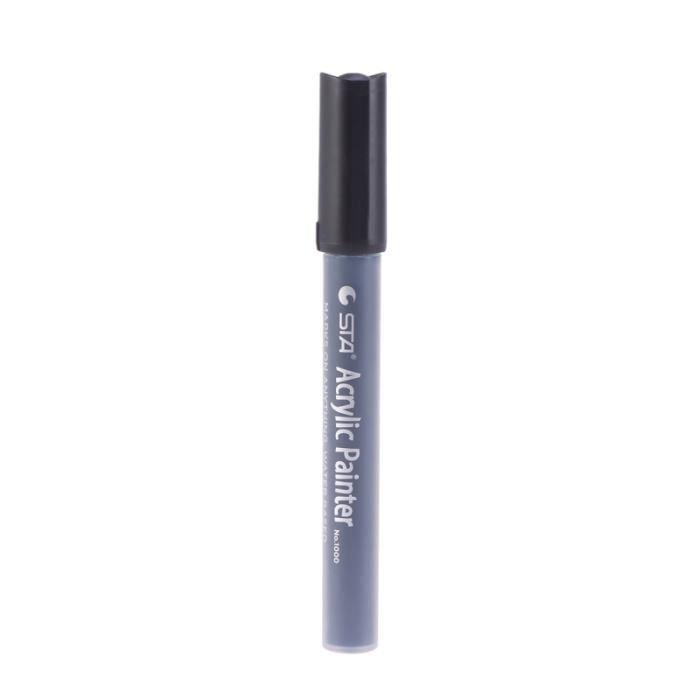 Stylo de peinture acrylique Premium étanche stylo de à pointe moyenne marqueur pour bois STYLO - PARURE DE STYLO - RECHARGE