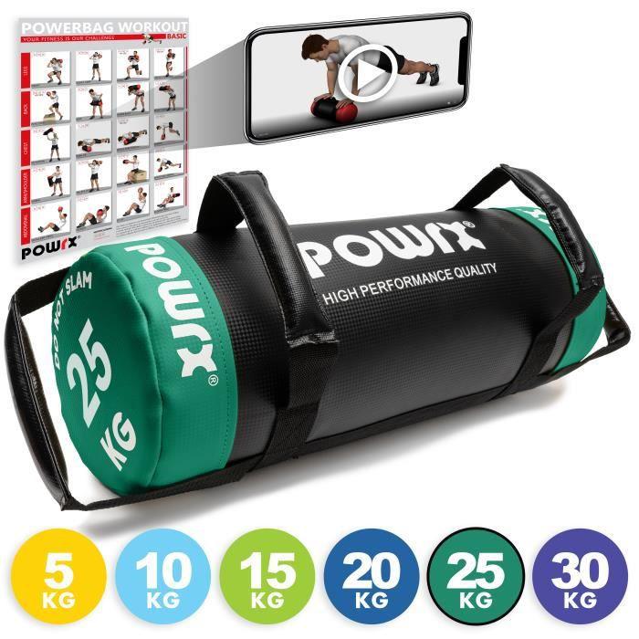 HPQ Power Bag différents poids et couleurs Poids: 25 kg