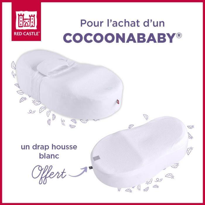 Matelas bebe model cocoonababy - Blanc