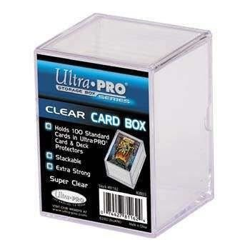 Ultrapro storage box boîte de rangement 100 cartes