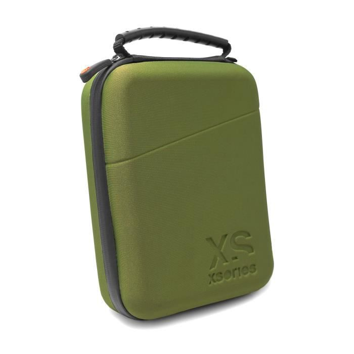 XSORIES Malette Capxule Petit pour Gopro - Vert olive