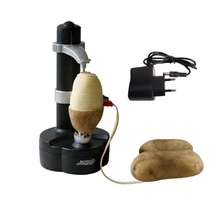DECOUPE FRUIT Multifonction Éplucheur Automatique Électrique Pou