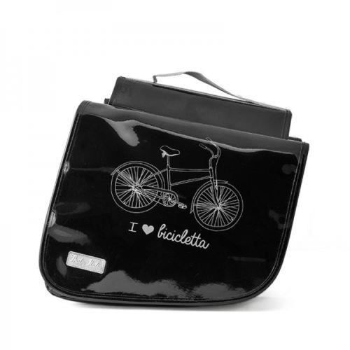 sacoche arri re v lo valises transport porte bagage bike vintage bicyclette bag noir achat. Black Bedroom Furniture Sets. Home Design Ideas