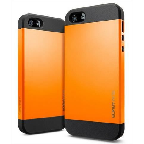 coque spg armor couleur iphone 5 5s orange achat coque bumper pas cher avis et meilleur. Black Bedroom Furniture Sets. Home Design Ideas